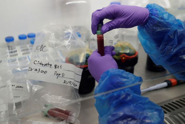 Blood Processing Lab in the Cambridge Institute of Therapeutic Immunology and Infectious Disease